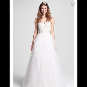 96b71b15a075 Roses by Reem Acra Ivy wedding dress